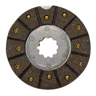 Fiber brake disc w/6 1/2OD by 3 1/2ID facing and 10 spline center. Part Reference Numbers: 1099598R91;1975464C2 Fits Models: 2424 INDUST/CONST; 2444 INDUST/CONST; 275 COMPACT TRACTOR; 276 TRACTOR; 354 TRACTOR; 364 TRACTOR; 374 TRACTOR; 384 TRACTOR; 424 TRACTOR; 434 TRACTOR; 444 INDUST/CONST; B414; BC144 ENG; BD144A ENG; BD154 ENG; C146 ENG