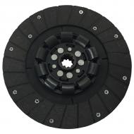 10 1/2 Inch Spring Clutch Disc with 1 1/8 inch 10 Spline hub Part Reference Numbers: 360488R92 Fits Models: 2504 INDUST/CONST; 2544 INDUST/CONST; 2606 INDUST/CONST; 300; 330; 340 TRACTOR; 350; 3616 INDUST/CONST; 460 INDUST/CONST; 544 TRACTOR; 606 TRACTOR