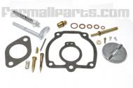 Complete carb kit (IH) \vinton\  Kit contains all parts necessary for magor carb overhaul. Fits Farmall M, MV All distalate with Carb Number 47387DB & throttle body #6513DX Floats are available separatley, Call for price  Carburetor kits contain Gasket, Needle & seat and other small parts to complete a Carburetor rebuild.