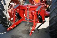 This 3 point hitch is available for the following Farmall tractors: H, M, Supers(H, M, MTA) 300, 350, 400, 450. Takes 2 3 x 8 cylinders that are not provided.