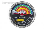 This tachometer fits Farmall 460 and 560 tractors.