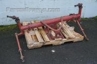 This wide front end fits the Farmall 300 and 350 and appears to be in great shape.
