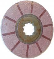 BONDED BRAKE DISC --- 1-5/8 SPLINE ID --- 4 USED PER TRACTOR --- International Applications: IH 354, 364, 384, 424, 444 +