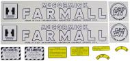 MYLAR DECAL SET --- SPECIAL ORDER ONLY. ALLOW ONE ADDITIONAL WEEK FOR DELIVERY CAUTION: INSPECT ALL DECAL PIECES BEFORE APPLYING TO TRACTOR. NO REFUNDS ON MYLAR DECALS IF APPLIED TO SURFACE AND / OR IF DAMAGED. NO REFUNDS ON VINYL CUT DECALS. STORE IN A COOL, DRY PLACE.