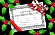 Farmallparts.com gift certificates are perfect for the dedicated IH Farmall enthusiast who has everything.