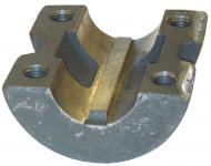 Rear wheel clamp - International Farmall H, HV, SUPER H, SUPER HV, EARLY 300 WITH # 6194D REAR WHEEL - Part #: IH: 6192DBX