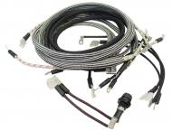 WIRING HARNESS --- CLOTH COVERED LIKE ORIGINAL --- INCLUDES WIRING INSTRUCTIONS & LIGHT WIRES -- USA MADE --- Farmall C WITH CUTOUT. This for serial number 47125 and below.