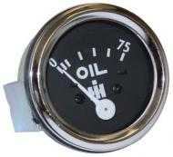 OIL PRESSURE GAUGE --- MEASURES FROM 0 - 75 --- WITH STUDS --- CHROME BEZEL --- International Applications: 300 (GAS / DSL), 330, 350 (GAS), 400 (GAS), 450 (GAS), 350 (DSL), 400 - 450 (DSL), 460, 560, 600, 650, 660 --- Replacement Part #: 3536962R2, 362039R91, 362177R94
