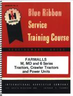 IH BLUE RIBBON SERVICE MANUAL --- A SERVICE MANUAL REPRINT TELLS YOU HOW TO TAKE THE TRACTOR APART, HOW TO FIX IT AND HOW TO PUT IT BACK TOGETHER AGAIN, IT IS A REPRINT OF THE MANUAL THAT THE FACTORY FURNISHED THE DEALERS SHOP SERVICE DEPARTMENT AND WAS NOT SENT OR GIVEN TO INDIVIDUAL RET --- International Applications: M, MD & 6 SERIES, TRACTORS, CRAWLER TRACTORS & POWER UNITS