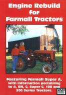FARMALL A ENGINE REBUILD VIDEO (DVD)   International Applications: A