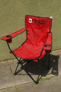 These are high quality chairs with the 1960ss IH logo embroidered on them. This is not just a sticker or silk screen. Comes with carrying case with International Harvester printed on it. Your IH lover will love it!