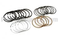 Quality engineered and specifically built with matchless precision for the engine listed. These ring sets are interchangeable with other standard brands and are equivalent to or better than the original manufactured equipment. Not for use with chrome sleeve liners. Call us to place an order for rings with chrome sleeve liners. <br><br>Comp. Rings: <br>Bore: .040+\ <br>Qty: 2 <br>Size: 3/32\<br><br>Oil Rings:<br>Qty: 1 <br>Size: 3/16\