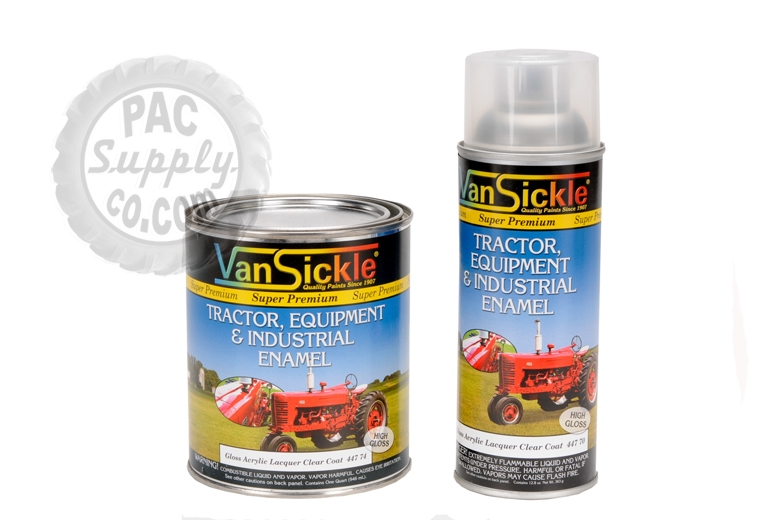 Clear Coat - Gloss Acrylic Lacquer Paint