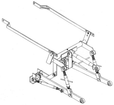 3 Point Hitch Adapter - C, Super C, 200, 230