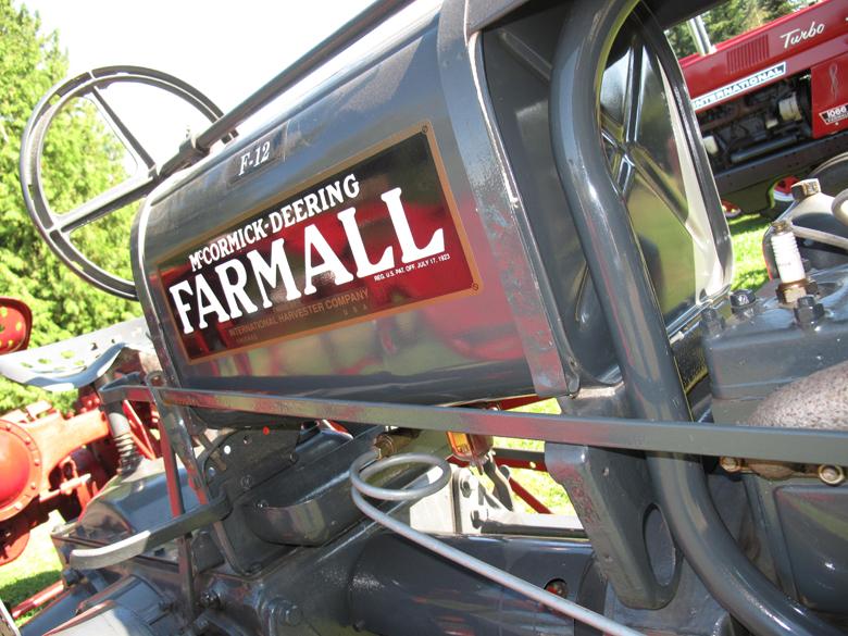 Farmall F12 Decals : Farmall parts international harvester tractor