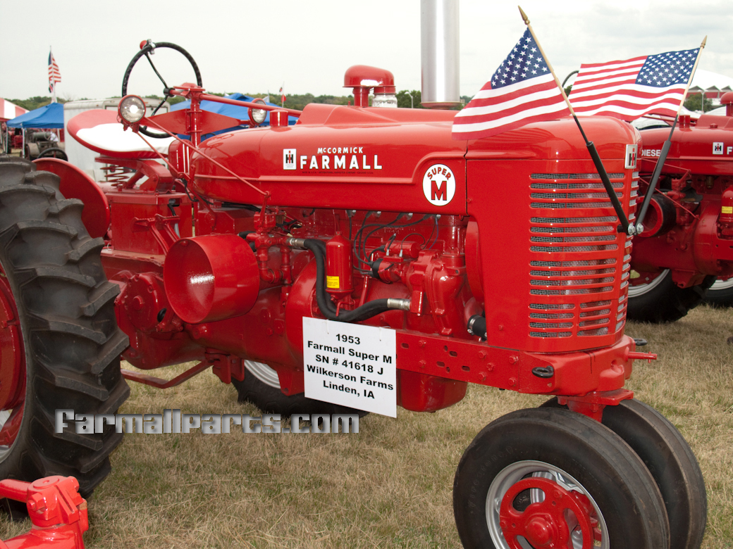 Farmall Super M Tractor Parts Md Wiring Diagram International Harvester Ih Rh Farmallparts Com 1953