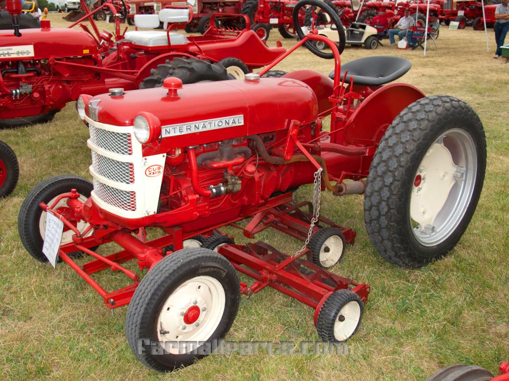 International Cub Parts : Farmall parts international harvester tractor