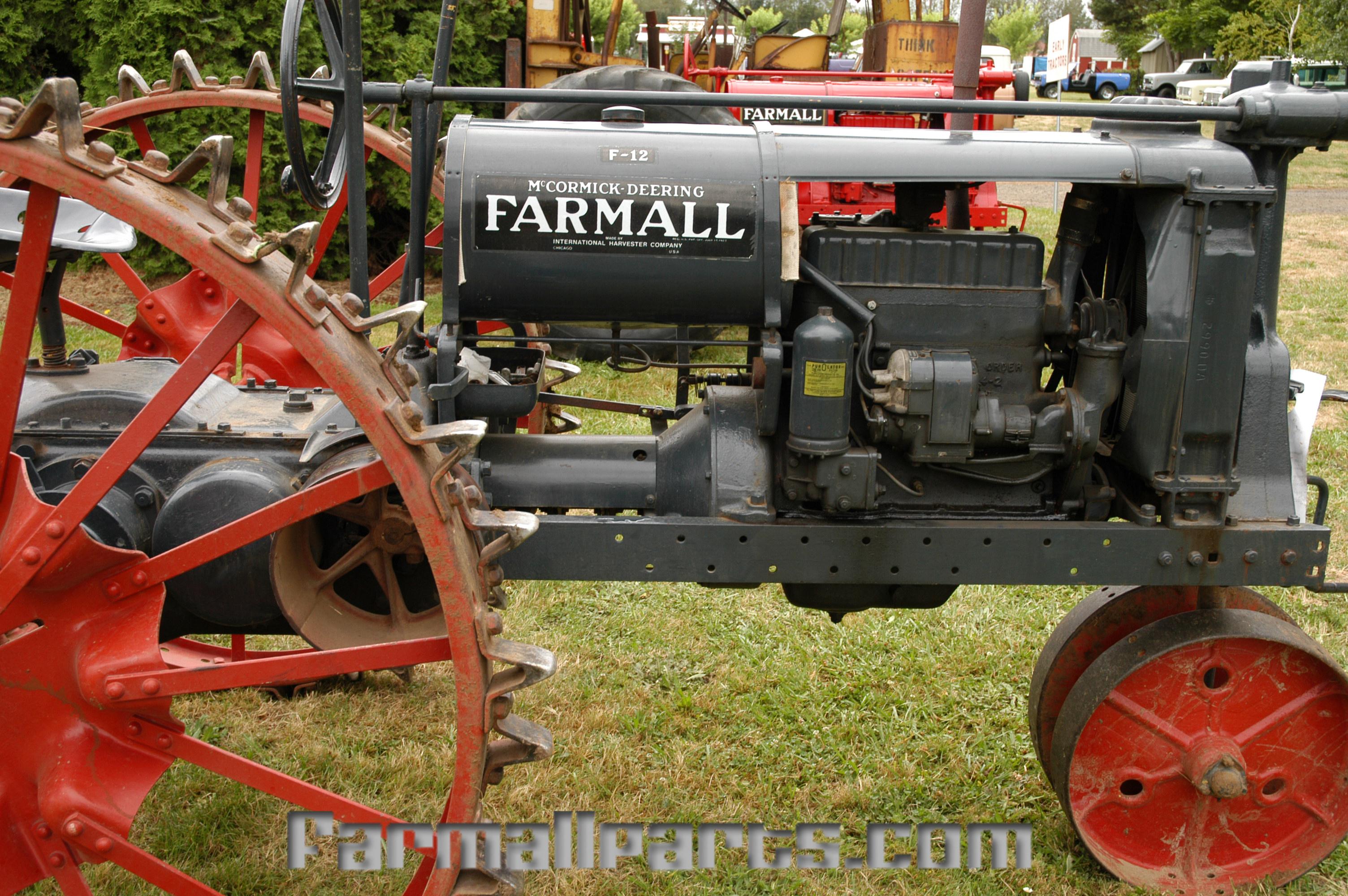 Farmall Steel Wheels : Farmall parts international harvester tractor