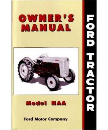NAA Owners Manual