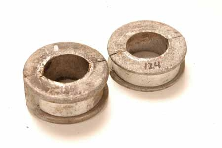 Spring ring retainer collar