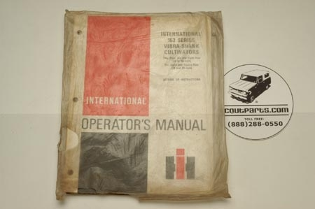 Operators Manual - Vibra Shank Cultivators
