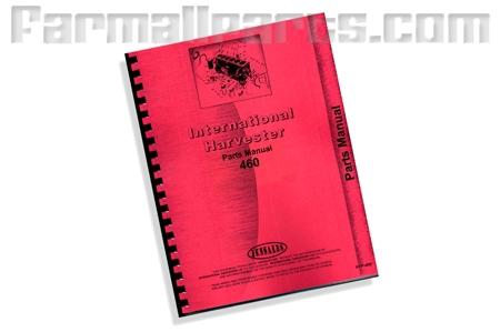 Farmall IH 460 parts manual