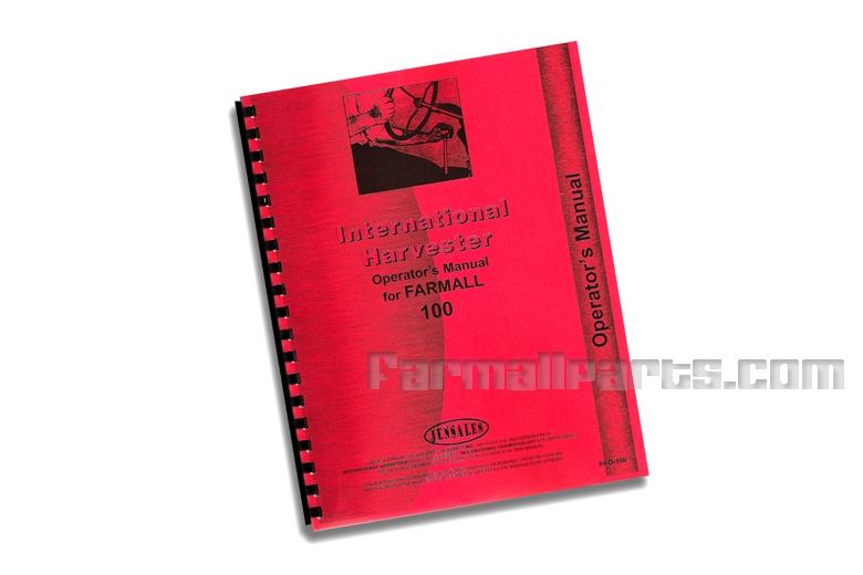 Operators Manual IH 100