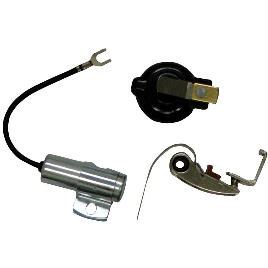 International Harvester Ign kit (inc. points, condenser, rotor) For battery ignition models from 1951-62.
