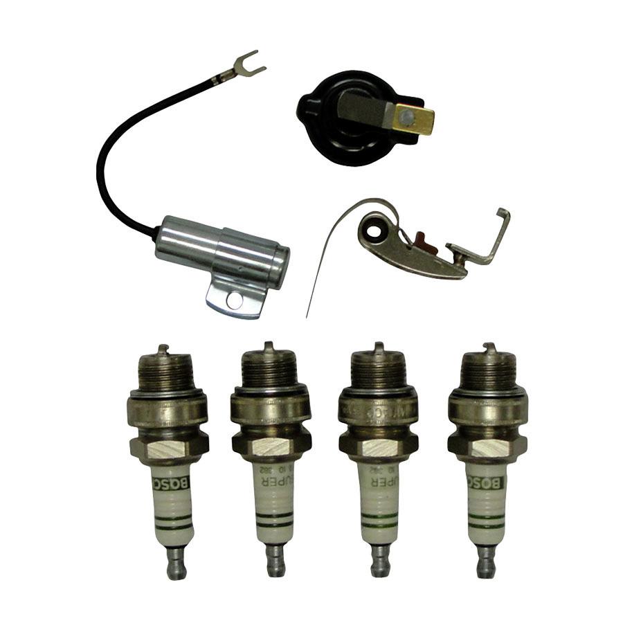 International Harvester Ign kit (inc. points, cond, rotor, plug) For 1951-1962 models w/battery ignition.