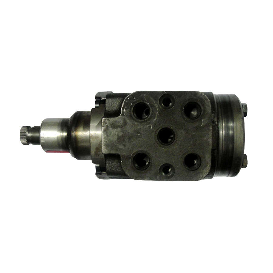 International Harvester Steering Motor This unit has 5 hydraulic lines and 3 mounting studs on the bottom of valve.