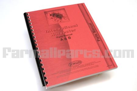 Parts Manual IH A, AV, B, BN
