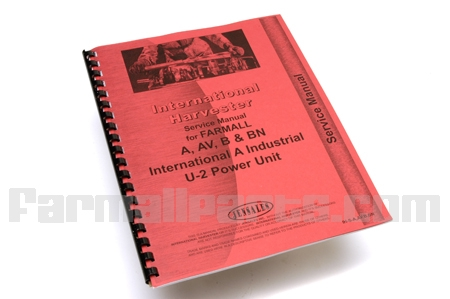 Service Manual IH Farmall A, AV, B, BN