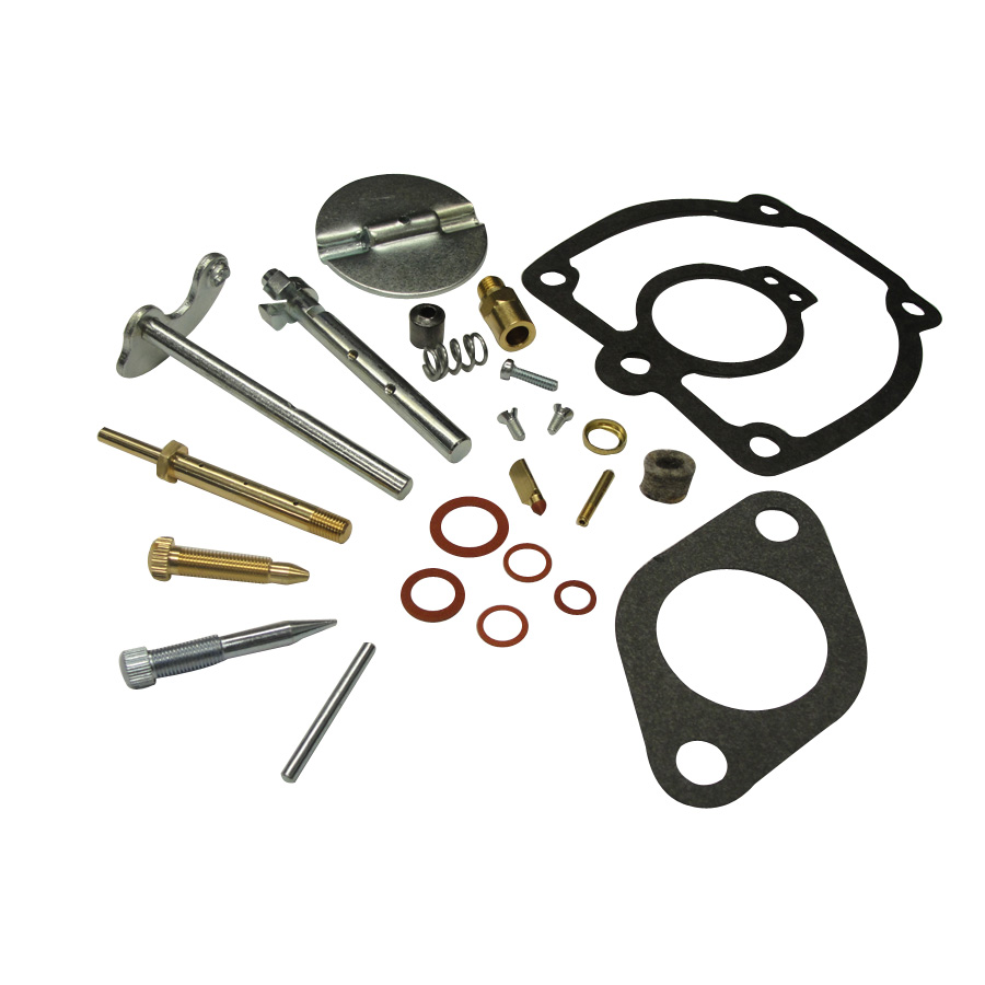 International Harvester Carburetor Kit Kit contains all parts necessary for major carburetor overhaul. Fits International carburetor 50983DB. Includes: gaskets