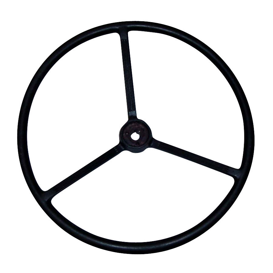 International Harvester Steering Wheel For Single Keyed Shaft - Tapered Hub .707