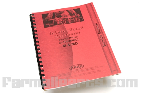 Service Manual For Farmall M, MD, MDV, MV GasDiesel