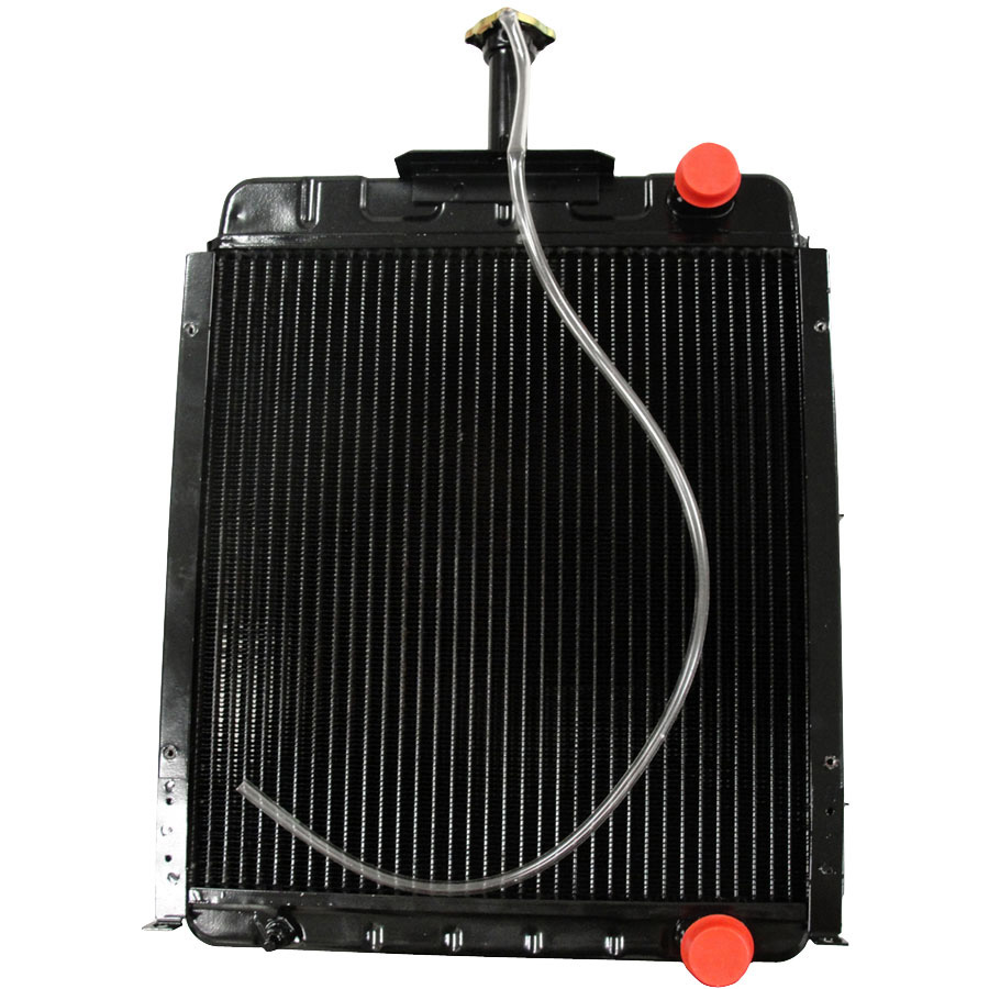 International Harvester Radiator For units without air-conditioning and without cab. Core Size: 17.50