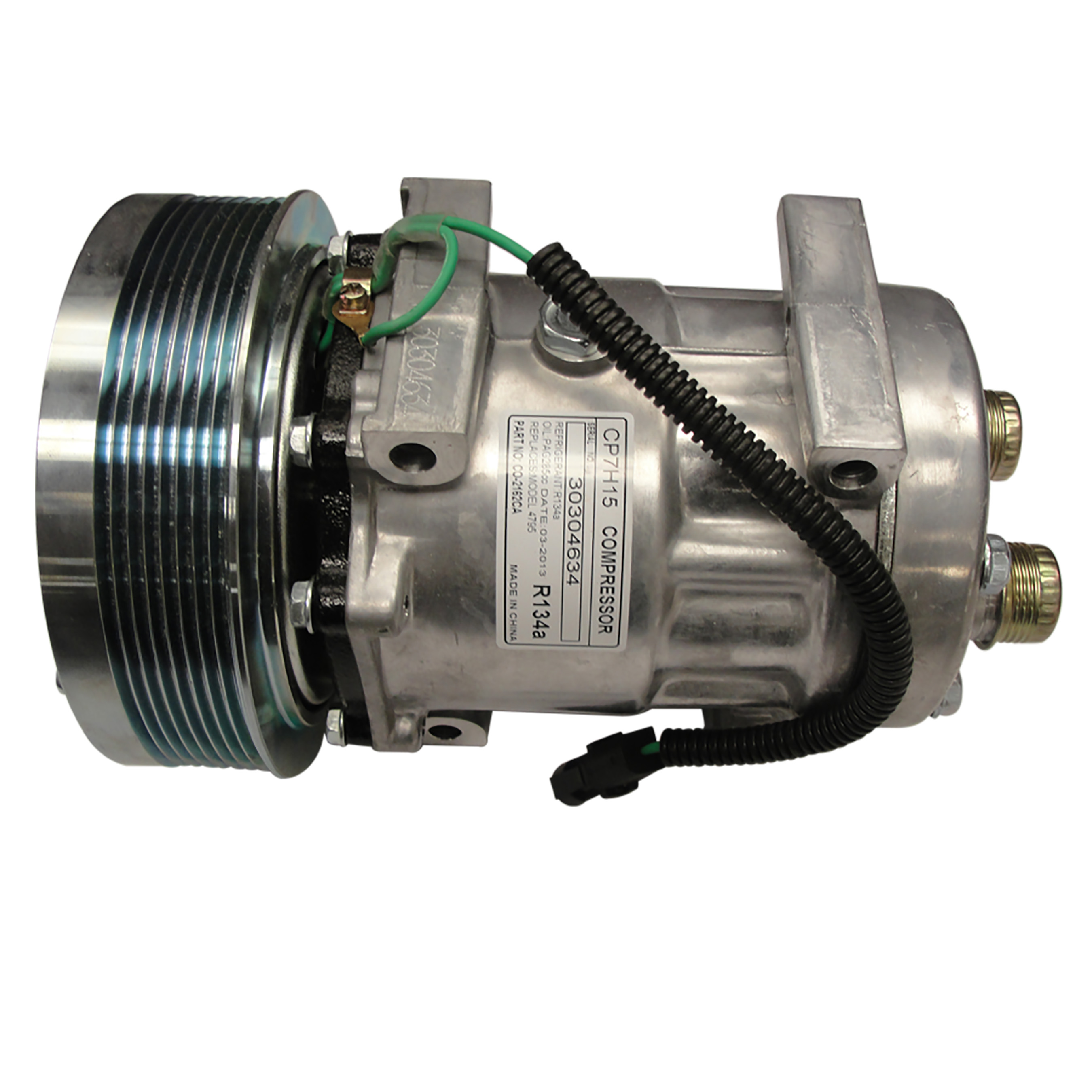 International Harvester Compressor Diameter: 6