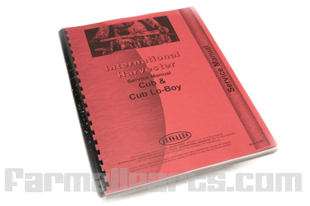 Operators Manual, Farmall Super A, Super AV