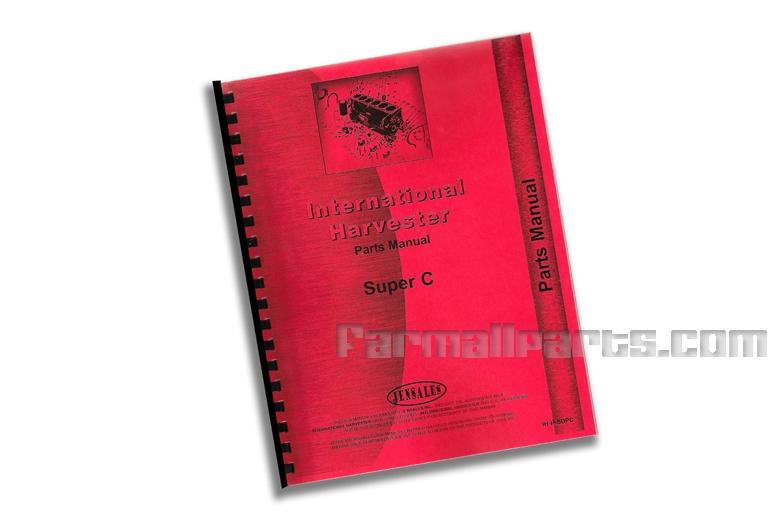 Parts Manual IH Super C