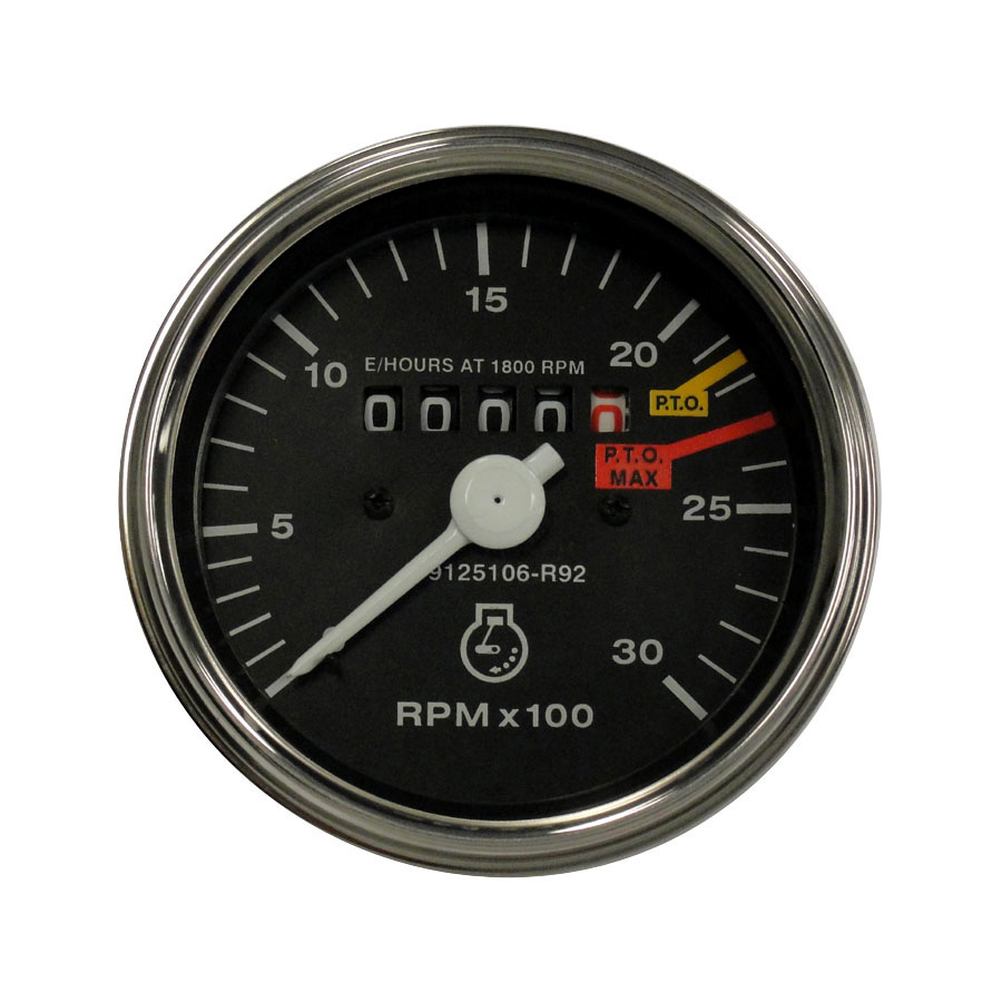 International Harvester Tachometer Tachometer for diesel and gas applications.