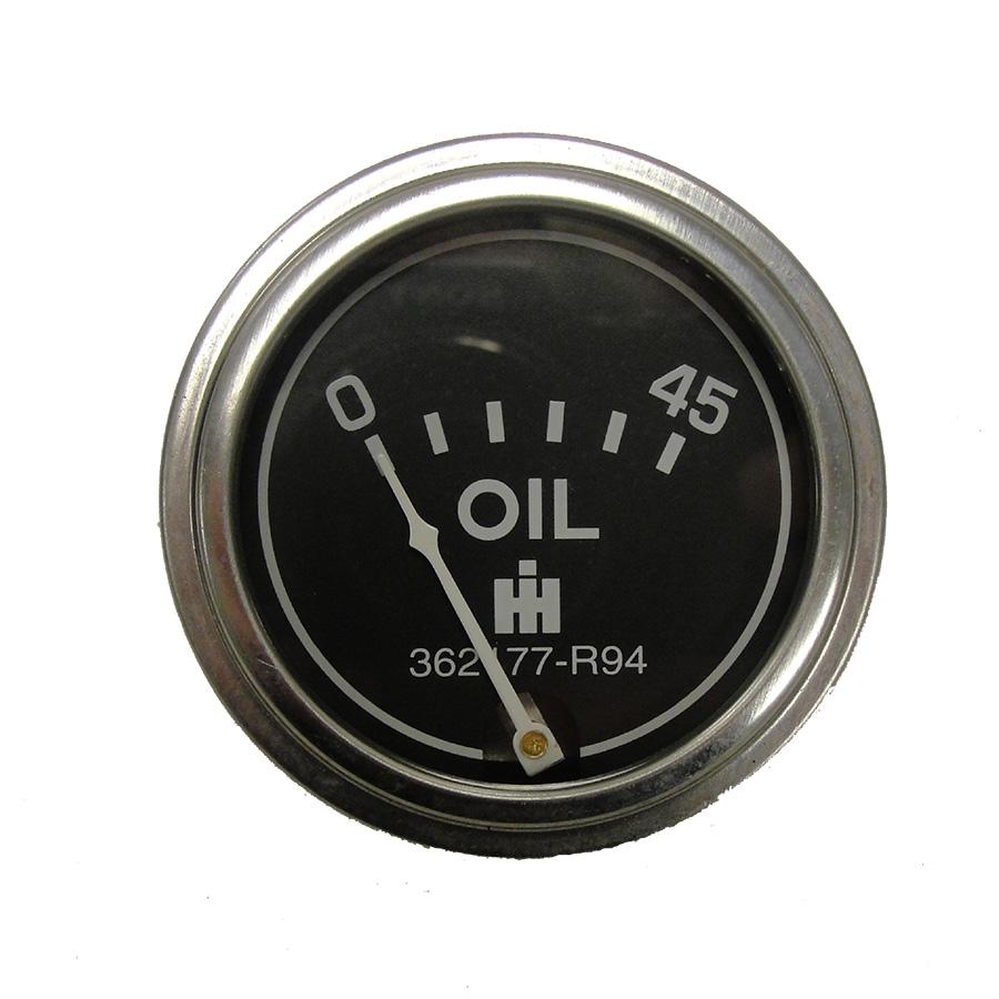 International Harvester Oil Pressure Gauge Oil pressure gauge for diesel and gas applications. 45lb