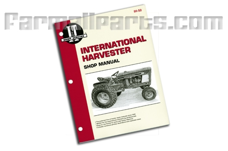 Shop Manual International Cub154 Lo-Boy IH-50
