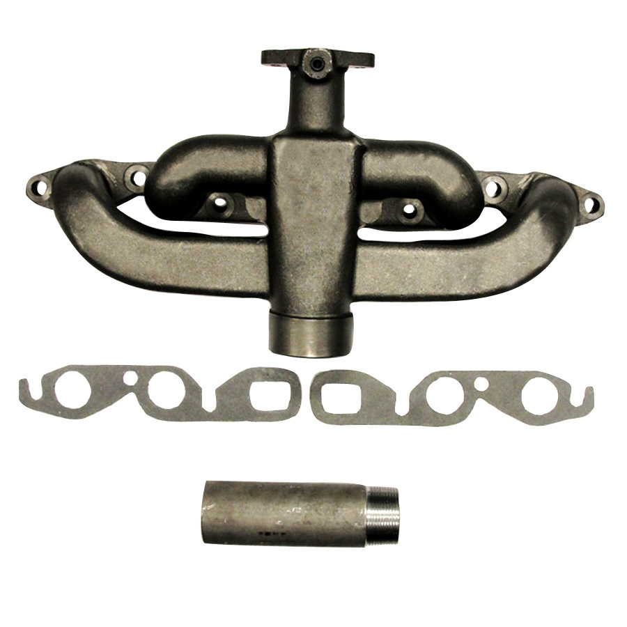 Exhaust Manifold - International Harvester  Farmall 100, 200, 230, 24, A; B, C, SUPER A, SUPER C