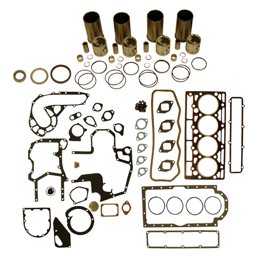 International Harvester Engine Base Kit Base Engine Kit: Includes standard pistons w/rings