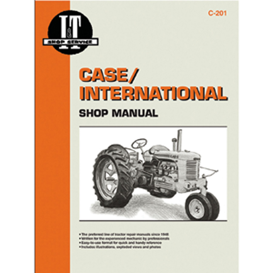 International Harvester Service Manual 288 pages. Does not include wiring  diagrams.