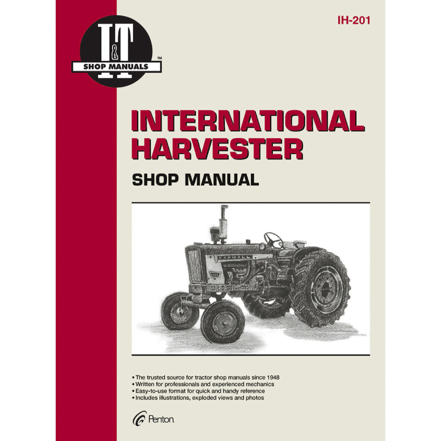 International Harvester Service Manual 280 pages. Manual includes wiring diagrams for the following models: 140
