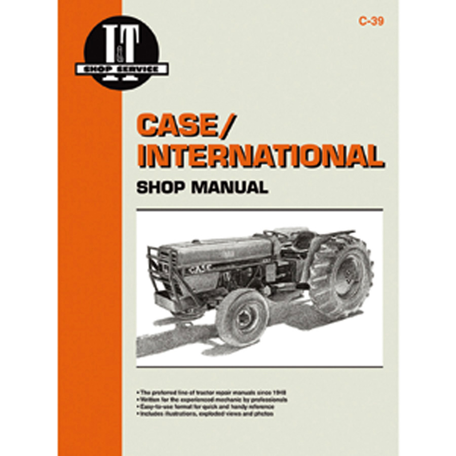 International Harvester Service Manual 104 pages. Does not include wiring diagrams.