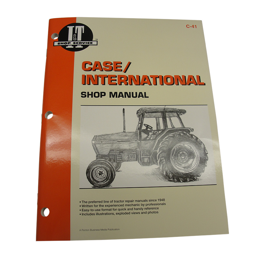 International Harvester Service Manual 144 pages. Does not include wiring diagrams.