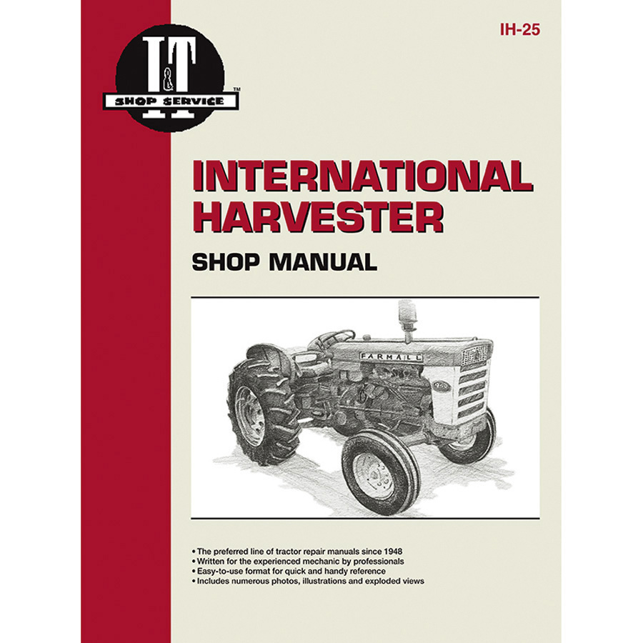 International Harvester Service Manual 96 pages. Does not include wiring diagrams.