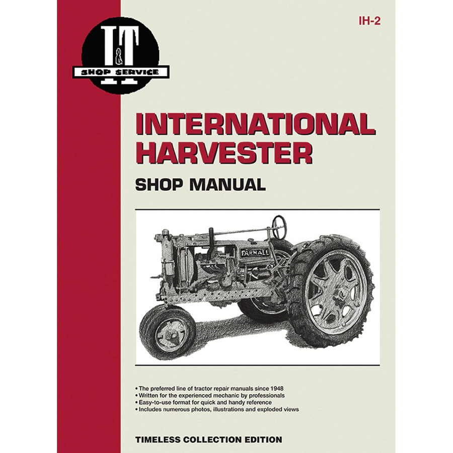 International Harvester Service Manual 48 pages. Does not include wiring diagrams.